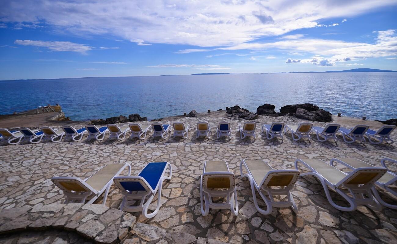 Hotel La Luna, plaža
