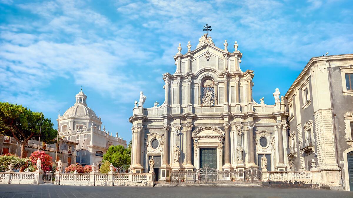 Catania, sicilija, posebnim zrakoplovom