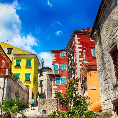 Putovanje Istra, šarene ulice Labina