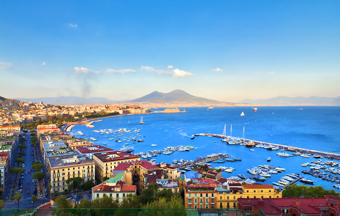Napulj i Vezuv, putovanje avionom, garantirani polazak