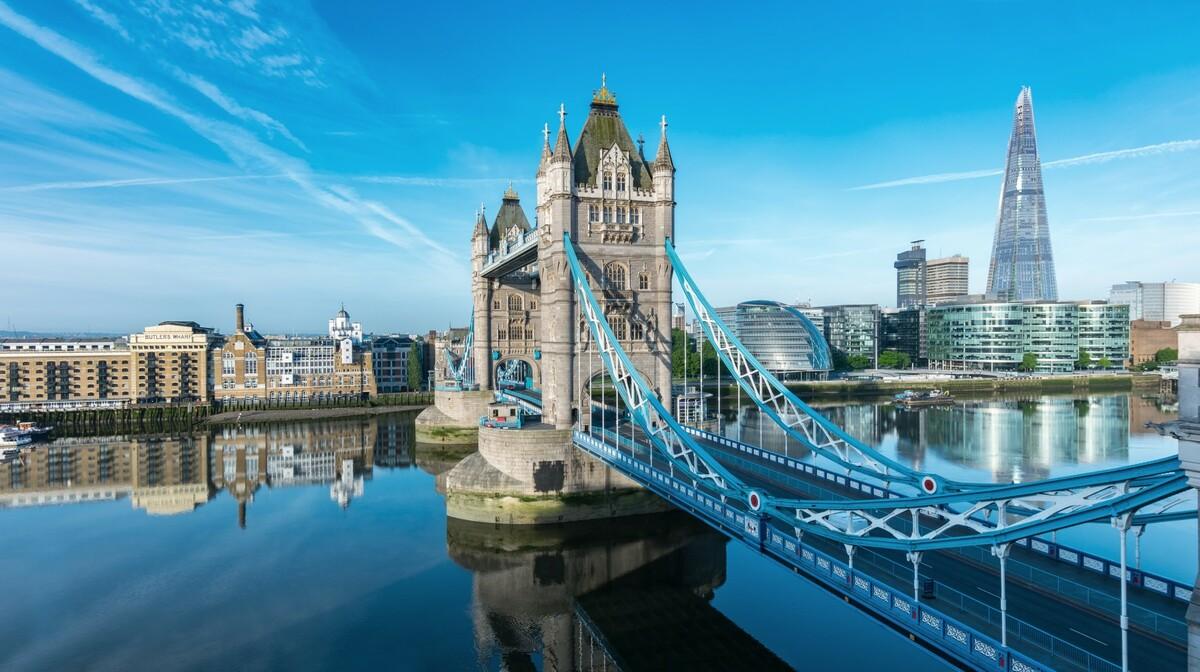 Tower bridge i Shard na garantirani polazak za London