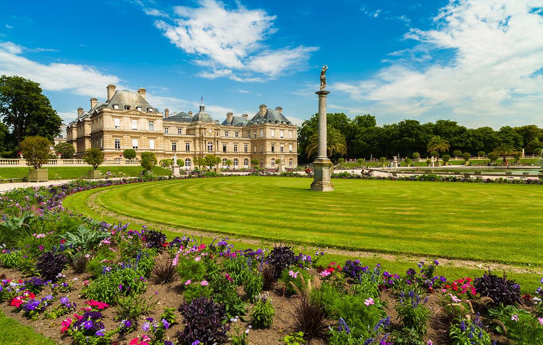 Luxemburški vrtovi, Proljeće u Parizu