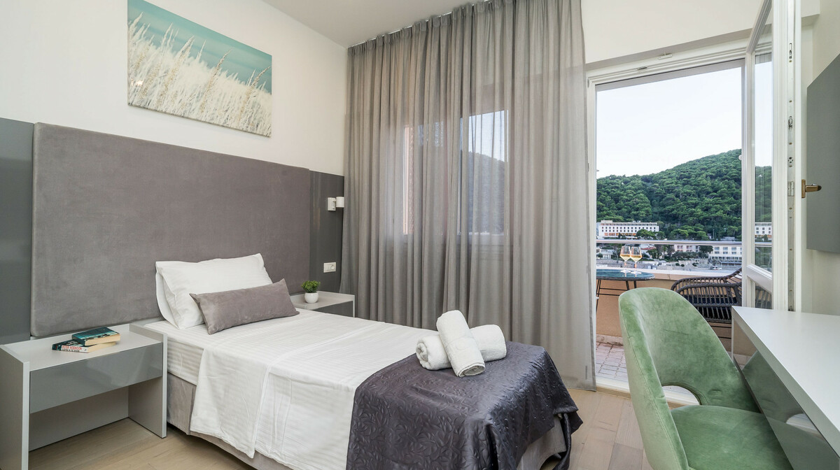Dubrovnik, Hotel Art, jednokrevetna soba