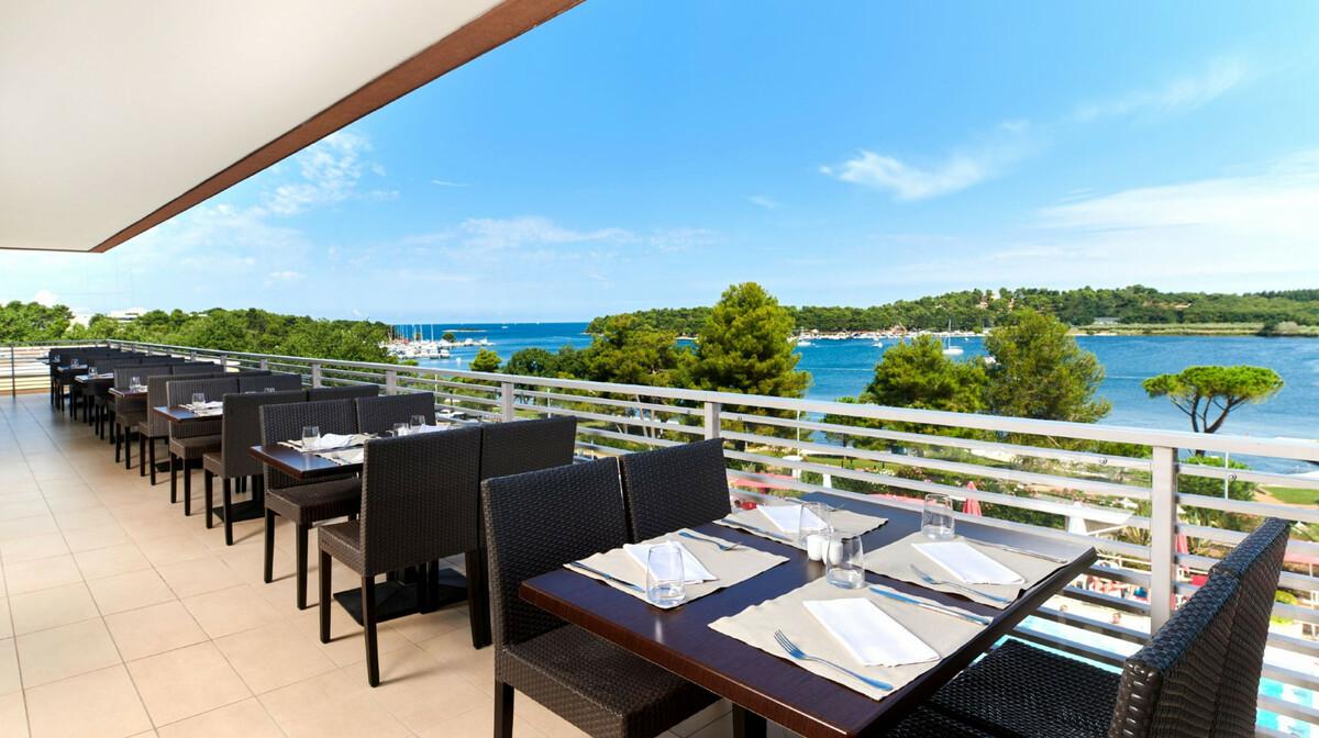 Hotel Molindrio Plava Laguna terasa