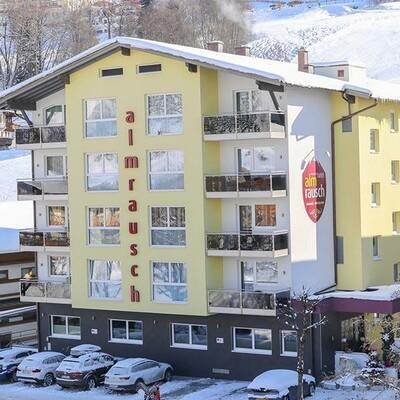 Hinterglemm,  Hotel Almrausch