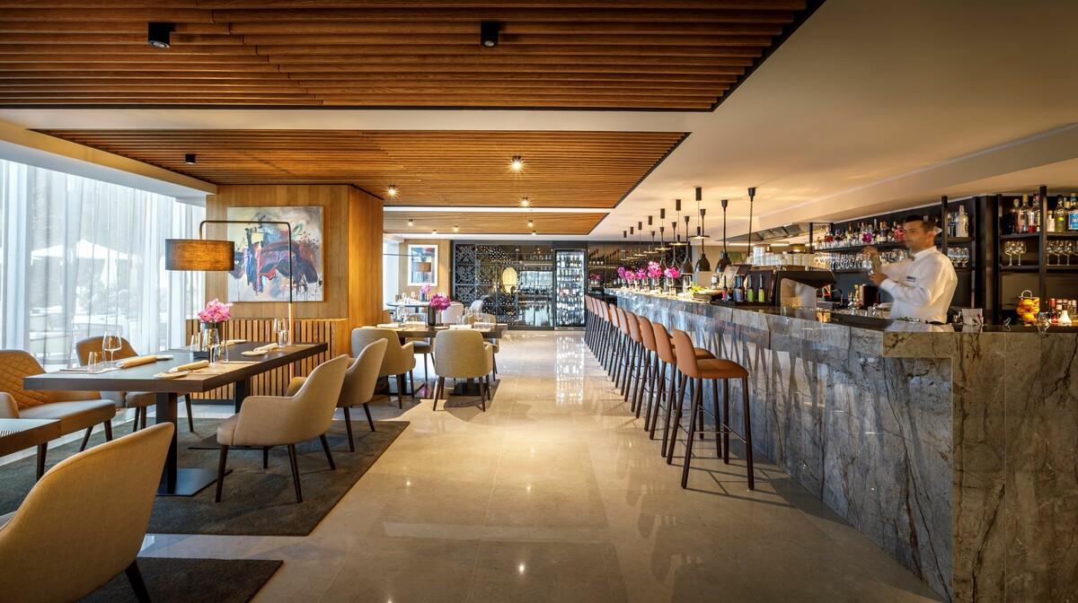 Bar u hotelu Ambasador u Opatiji.