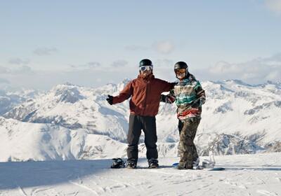 Austrija, skijanje, Bad Ischgl