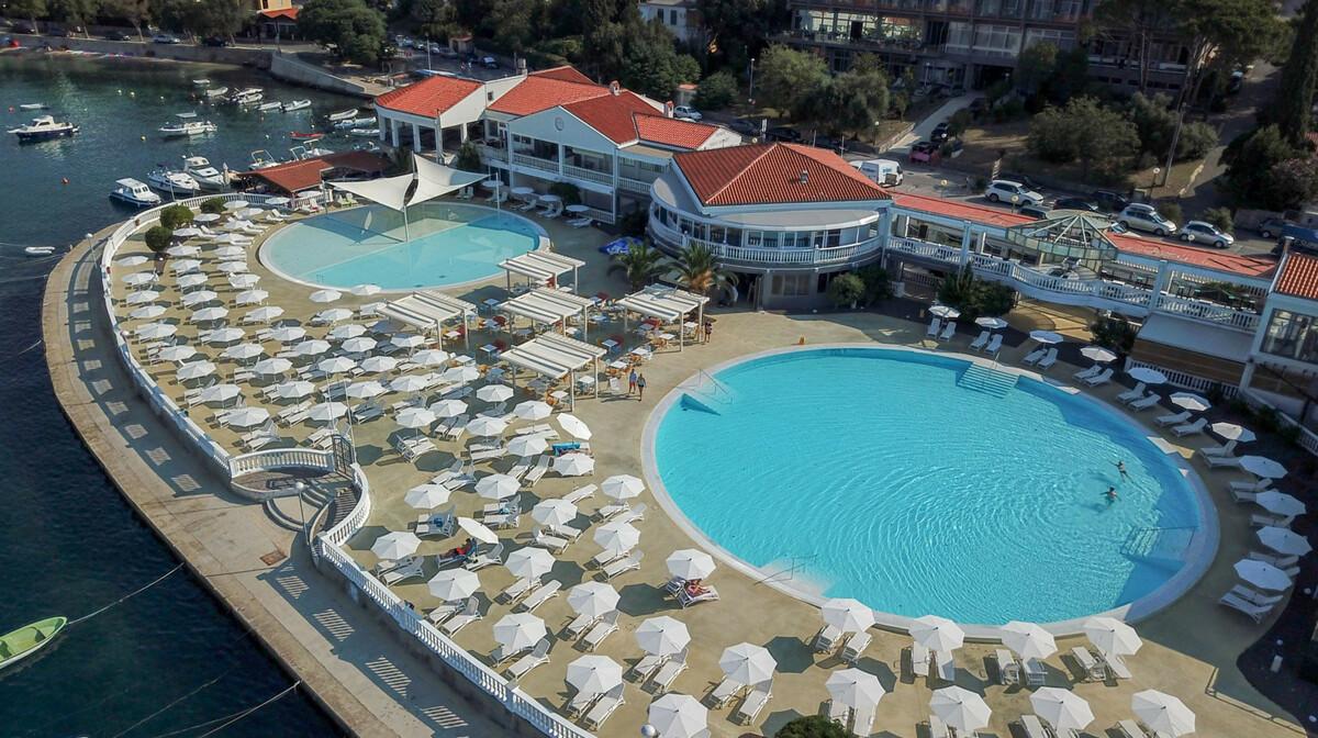 Hotel Katarina, vanjski bazen2