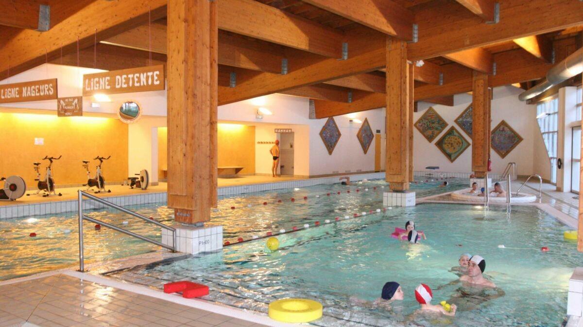 Skijanje u Francuskoj, Val Cenis, Les Balcons de Val Cenis Le Haut, bazen.