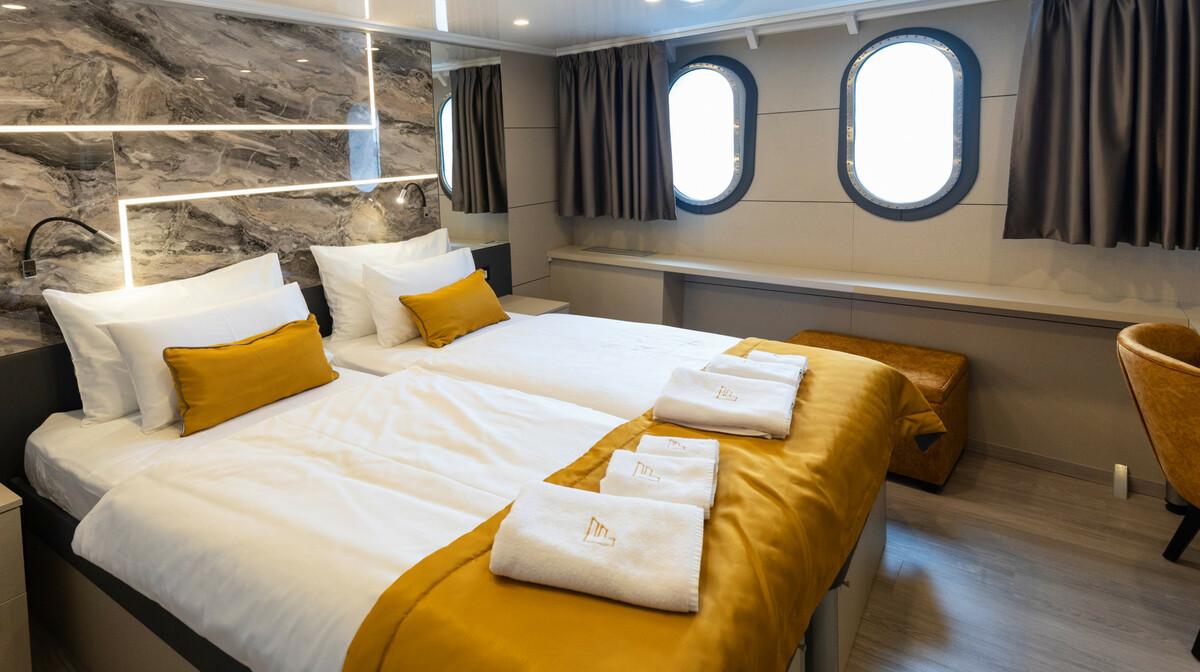 Krstarenje Jadranom luksuznim brodom Freedom - kabina