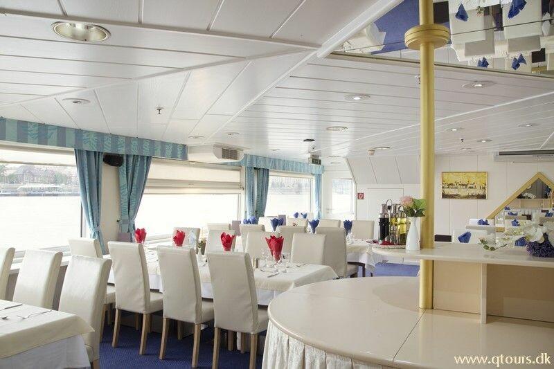 Krstarenje Dunavom, Brod MS Der Kleine Prinz, restoran
