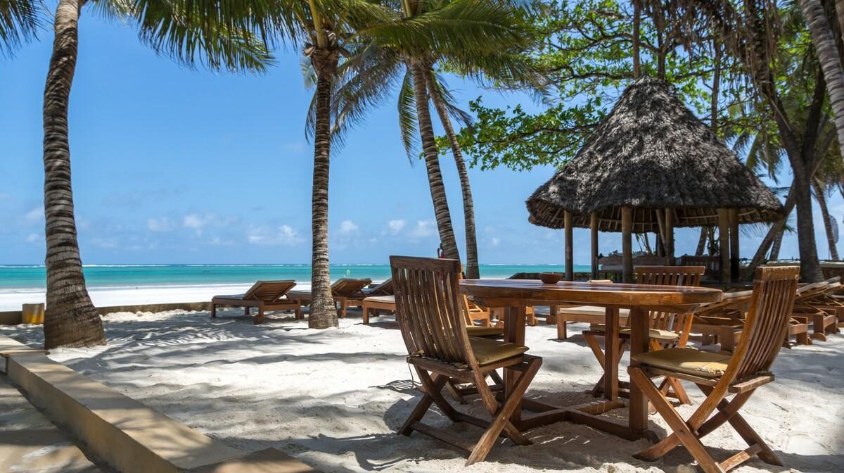 Kenija - Diani beach