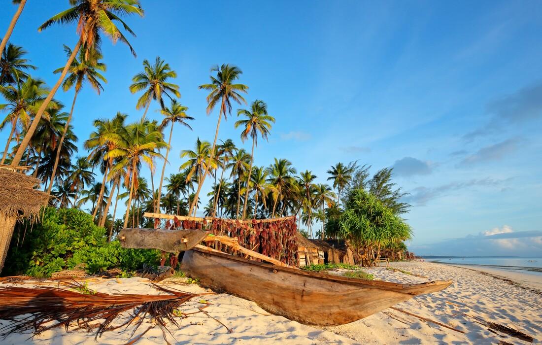 Zanzibar, plaža