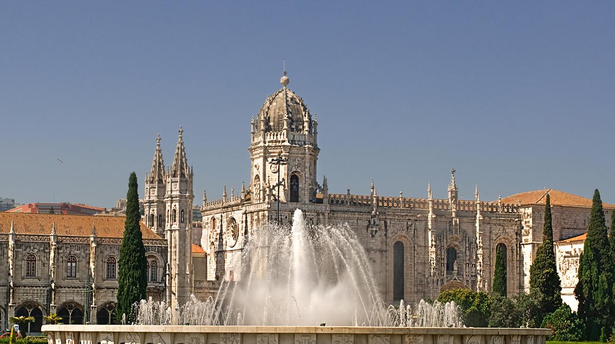 Fontana i samostan Sv.Jeronima, putovanje u Lisabon
