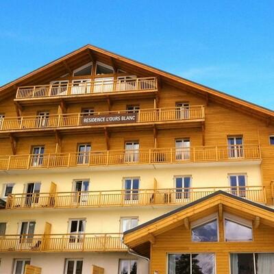 Skijanje Francuska, Les 2 Alpes,  Residence L'Ours Blanc, izvana