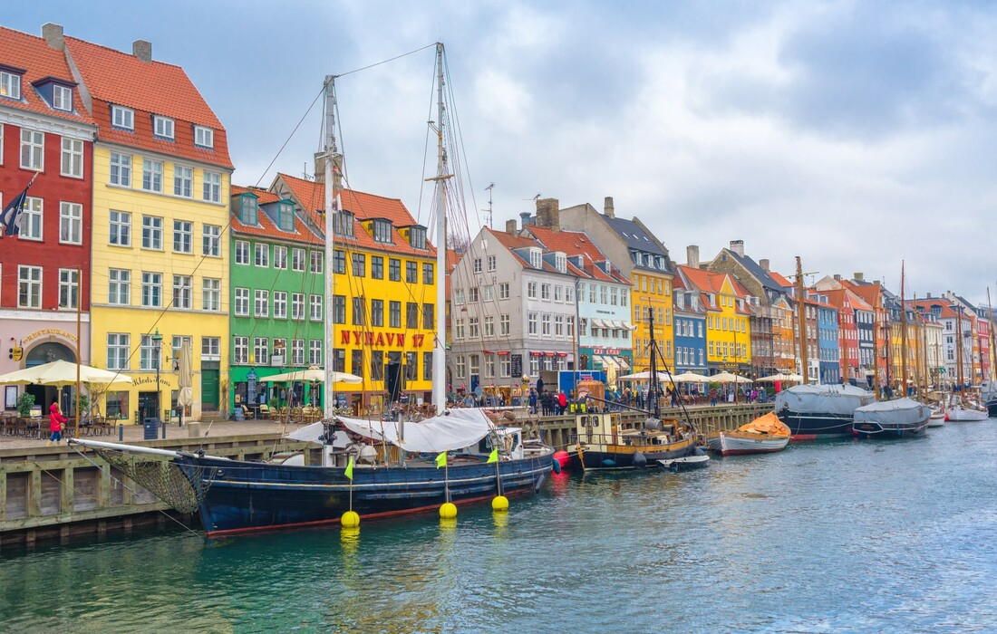 Kopenhagen, slikovite šarene zgrade uz kanal