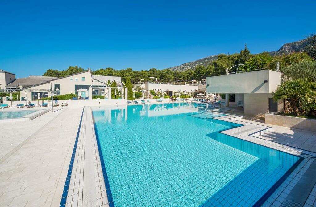 Otok Brač, Bol, Bretanide Sport & Wellness Resort, vanjski bazen