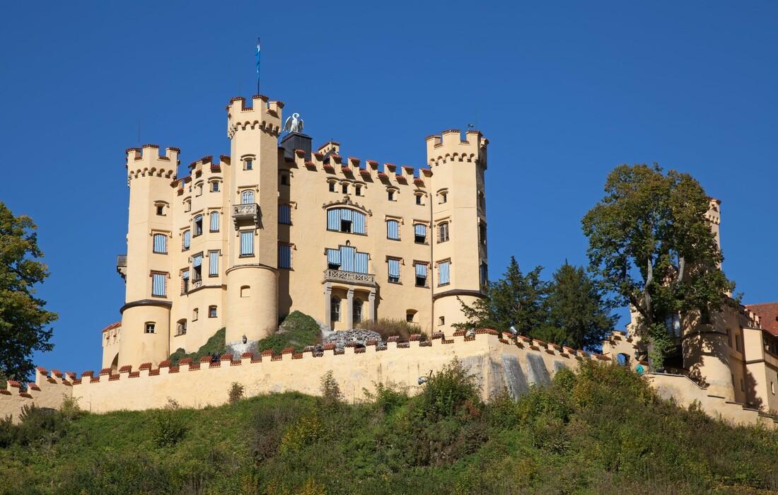 Bavarska - Hohenschwangau castle