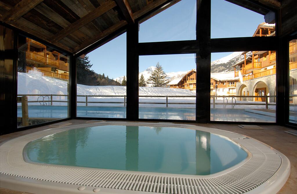 Skijanje u Francuskoj, Val Cenis, Lanslebourg Residence Les Alpages, whirpool.