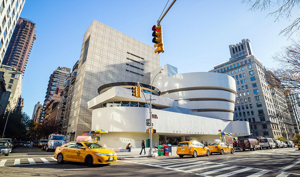 New York, Muzej moderne i suvremene umjetnosti Guggenheim