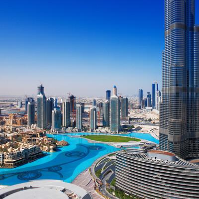 Panorama grada, putovanje u Dubai, Emirati, grupni polasci, daleka putovanja