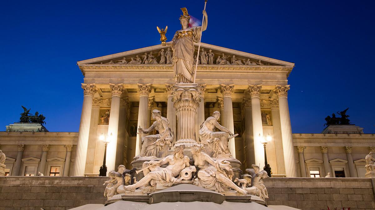 Parlament u Beču, putovanje u Beč, Mondo travel