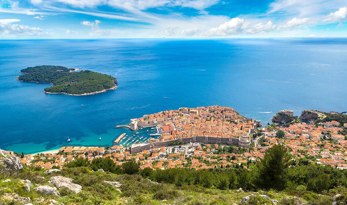 Dalmacija, Dubrovnik i Lokrum, upoznajmo Hrvatsku , mondo travel, autobusna putovanja ,