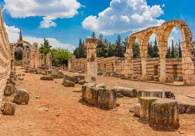 Libanon, Ruševine Libana Umayyad Aanjar Anjar Beeka