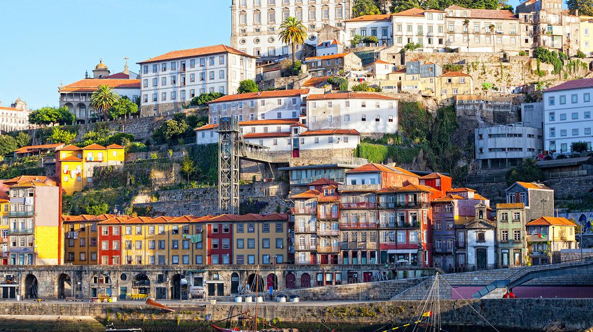 Razgled Porta, Ribeira, putovanje Portugalska tura